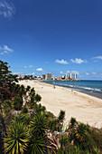Sandy beach, Oropesa del Mar, Costa del Azahar, Province Castellon, Spain