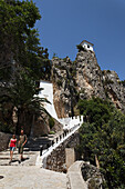 Mountain village, Guadalest, Province Alicante, Spain