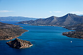 Venetian fortress, Island of Spinalonga, Lasithi prefecture, Crete, Creece
