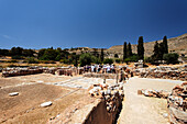 Archaeological site, Kato Zakro, Prefecture Lasithi, Crete, Greece