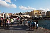 Venetian port, Chania, Crete, Greece