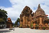 Cham temple Po Nagar, Nha Trang, Khanh Ha, Vietnam