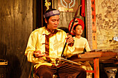 Traditional music performance, handicraft workshop, Hoi An, Annam, Vietnam