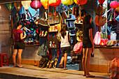 Bag shop, Hoi An, Annam, Vietnam