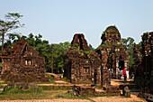 Hindu temples, My Son, Annam, Vietnam