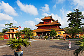 Hien Lam Pavilion (Pavilion of Glorious Coming), Citadel, Imperial City, Hue, Trung Bo, Vietnam