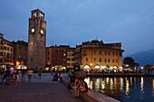 Clock Tower Torre Apponale, Riva, Lake Garda, Trento, Italy