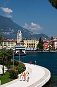 Quayside, Riva, Lake Garda, Trento, Italy
