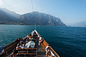 Paddle Wheel Steamer, Lake Garda, Italy