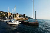 Scaliger Castle, Torri del Benaco, Lake Garda, Veneto, Italy