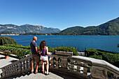 View, Villa Carlotta, Tremezzo, Lake Como, Lombardy, Italy