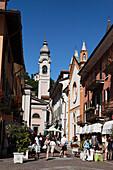 Historic Centre, Menaggio, Lake Como, Lombardy, Italy