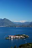 Borromean Palazzo, Isola Bella, Stresa, Lago Maggiore, Piedmont, Italy