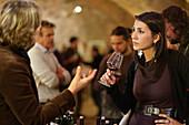 Winetasting, La Morra, Langhe, Piedmont, Italy
