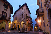Alleys, Cannobio, Lago Maggiore, Piedmont, Italy