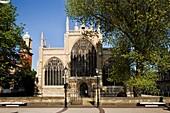 Holy Trinity Church in the Trinity Quarter Kingston upon Hull East Yorkshire England