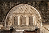 Detail of Plaster Work at the Medersa Bou Inania, Fez, Morocco, North africa