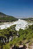 Saklikent river South West Turkey