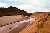 Saf Saf river, border with Algeria, oasis of Figuig, province of Figuig, Oriental Region, Morocco