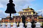 monastere de Shechen, universite de philosophie bouddhiste, Bodnath, Katmandou, Nepal, Himalaya, Asie du Sud//Shechen monastery, Buddhist philosophy university, Bodnath, Katmandu, Nepal, Himalaya, South Asia
