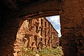 traditional barn-fortress for crop harvesting, Tallate, Anti-Atlas, Morocco, North Africa