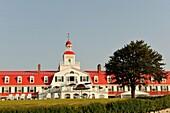 Tadoussac hotel, Cote-Nord region, Province of Quebec, Canada, North America