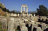 Ruins of Delphi Greece