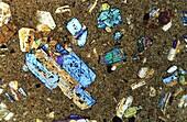 Basalt Igneous rocks Petrographic microscope