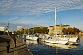 Bristol's Floating Harbour at St Augustines Reach Bristol, England, United Kingdom