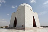 Quaid-i-azam mausoleum, grave of jinnah, founder of Pakistan