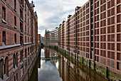 Warehouse District of Hamburg, Speicherstadt, Hamburg, Germany