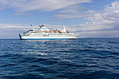 Cruiseship MS Delphin, Aegean Sea, near Greece, Europe
