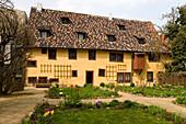 Bachhaus, supposable house of Johann Sebastian Bach's birth, Eisenach, Thuringia, Germany, Europe