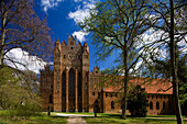 West gable of Chorin monastery, cistercian monastery, Chorin, Uckermark, Brandenburg, Germany, Europe