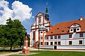 Church and abbey of St. Marienstern monastery, Panschwitz-Kuckau, sächsische Oberlausitz, Saxony, Germany, Europe