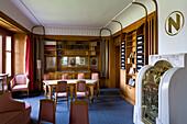 Living quarters designed by Henry van de Velde, Nietzsche Archive, Weimar, Thuringia, Germany, Europe