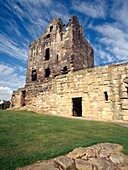 RAVENSCRAIG CASTLE FIFE Ruined castle