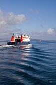 Varagen ORKNEY FERRIES TRANSPORT Northern Isles ferry departing Kirkwall