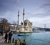 Ortokay Mosque Turkish: Buyuk Mecidiye Camii Istambul Turkey