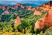 Las Medulas Cultural Park UNESCO World Heritage Site El Bierzo region Leon Castile and Leon Spain, Europe