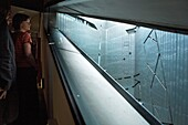 Judisches museum, by Daniel Libeskind As seen from its interior Berlin Germany