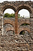 The Great Basilica at Butrint in Southern Albania