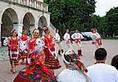 Ukranian folk festival, Kamianets-Podilskyi, Khmelnytskyi oblast province, Ukraine