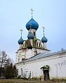 Church of Holy Virgin of Vladimir 1740-s, Pereyaslavl-Zalessky Golden Ring, Yaroslavl region, Russia
