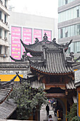 Luohan Temple, buddhist temple downtown, tourist attraction, Chongqing, People's Republic of China