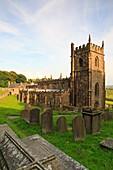 Church of St Nicholas, High Bradfield, Peak District National Park, Sheffield, South Yorkshire, England, UK