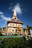 Wat Chalong temple, Phuket, Thailand