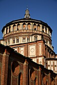 Bramante apse in Santa Maria delle Grazie Church Our Lady of Grace, Milan, Italy