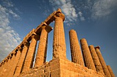 Temple of Giunone, Valley of the Temples, Agrigento, Italy