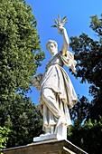 Boboli Gardens, Florence, Italy Abundance by Giambologna, Pietro Tacca, and Sebastiano Salvini da Settignano Marble and bronze